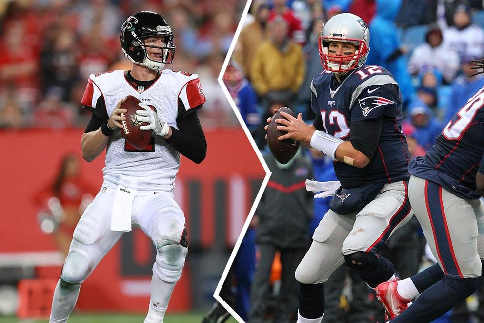 Who should be the NFL's MVP: Matt Ryan or Tom Brady?