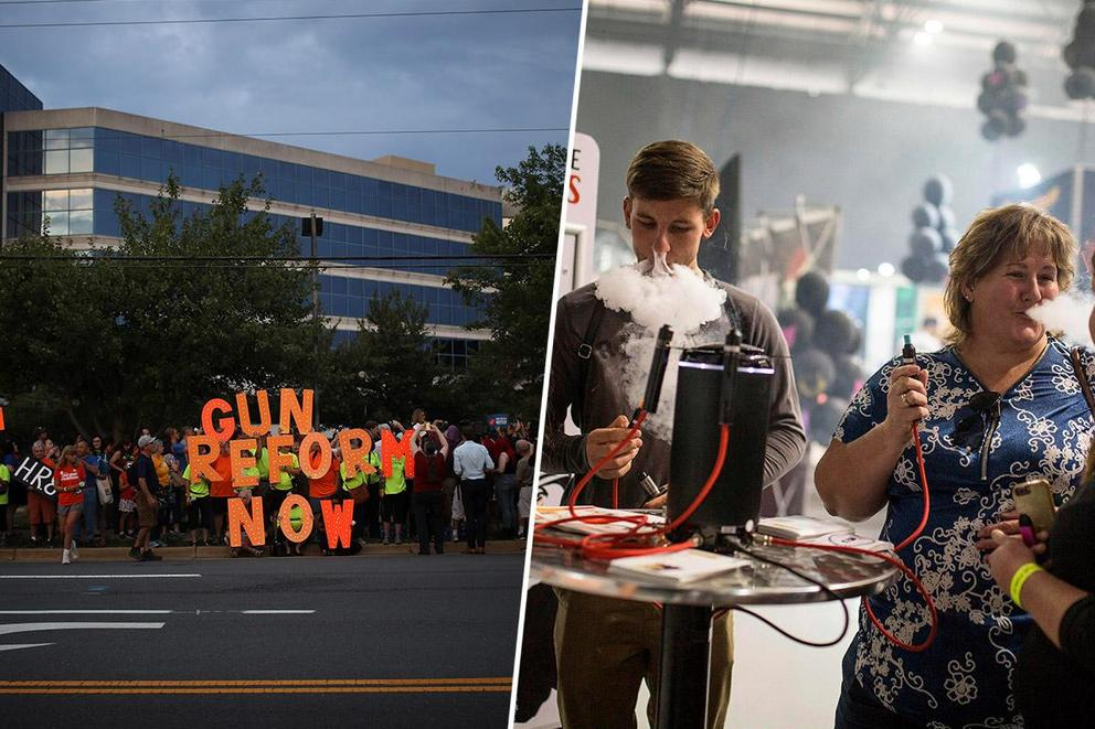 What should be reformed first: guns or e-cigarettes?