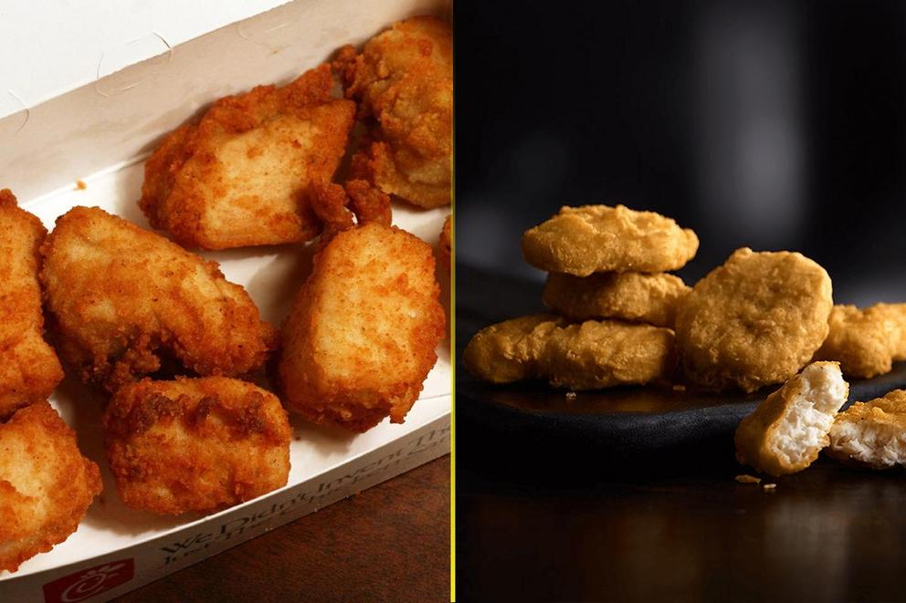 Who has the best chicken nuggets: Chick-fil-A or McDonald's?