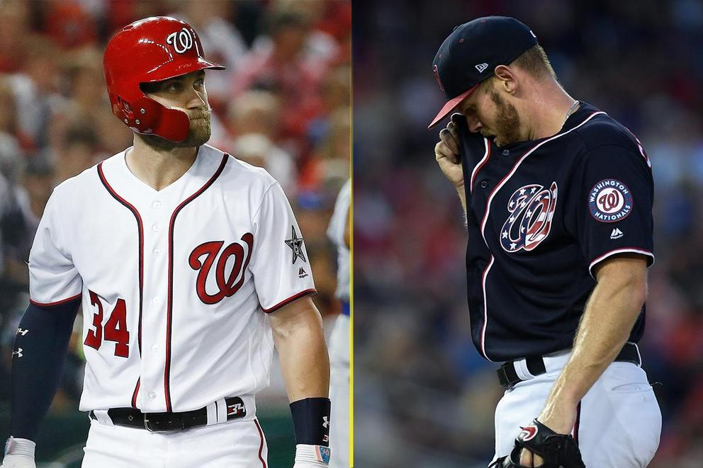 Who should the Washington Nationals trade: Bryce Harper or Stephen Strasburg?