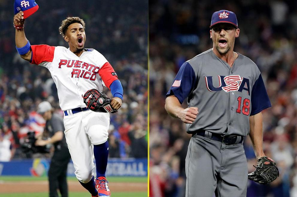 Who will win the 2017 World Baseball Classic: Puerto Rico or the U.S.?