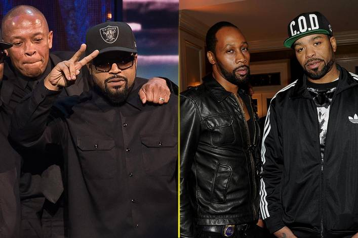 Most iconic rap group: N.W.A. or Wu-Tang Clan?