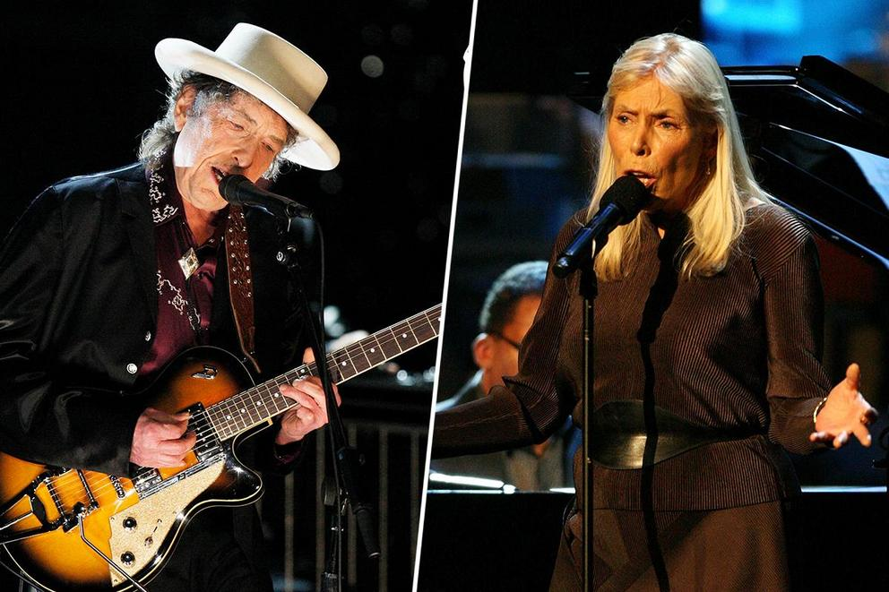 Greatest folksinger: Bob Dylan or Joni Mitchell?