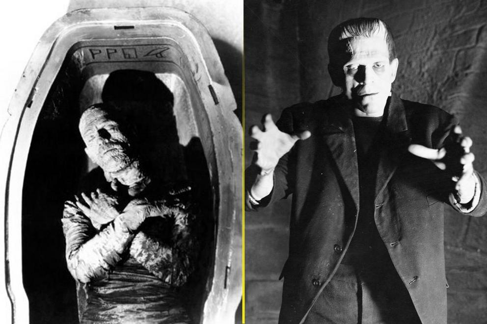 Scariest Boris Karloff movie: 'The Mummy' or 'Frankenstein'?
