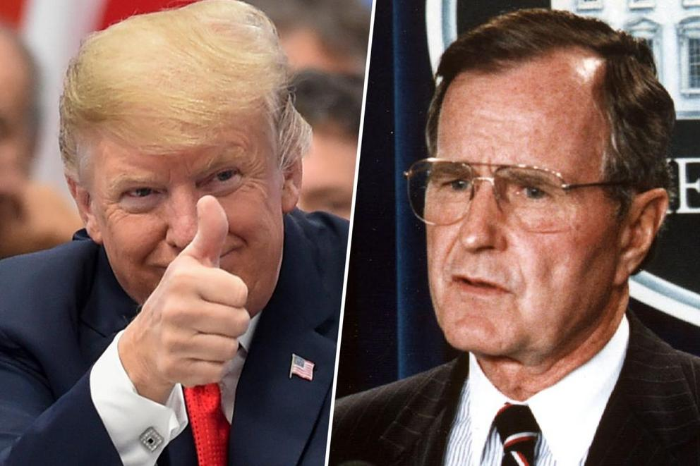 Worst Food Faux Pas: Donald Trump's steaks or George H.W. Bush barfing?