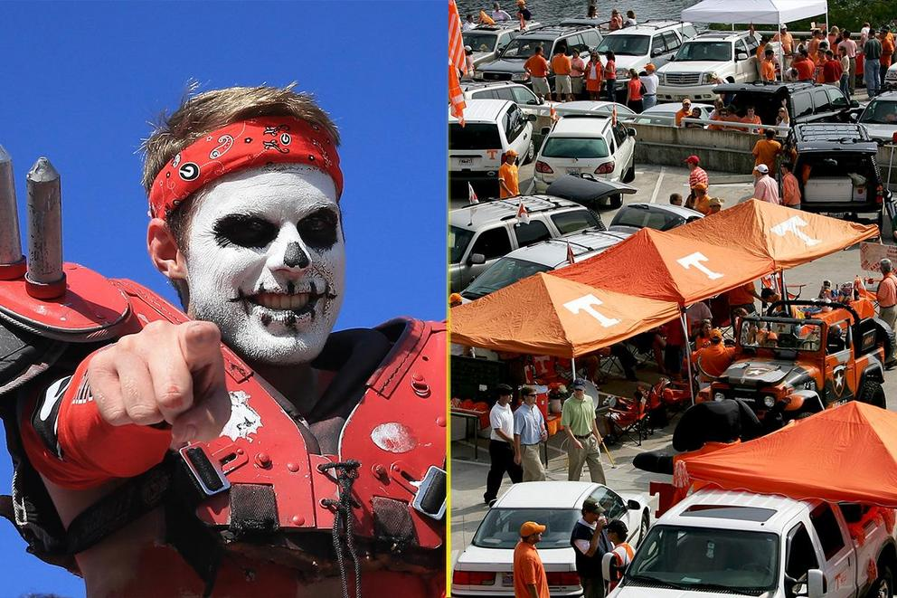 Who has the best tailgate: Georgia or Tennessee?