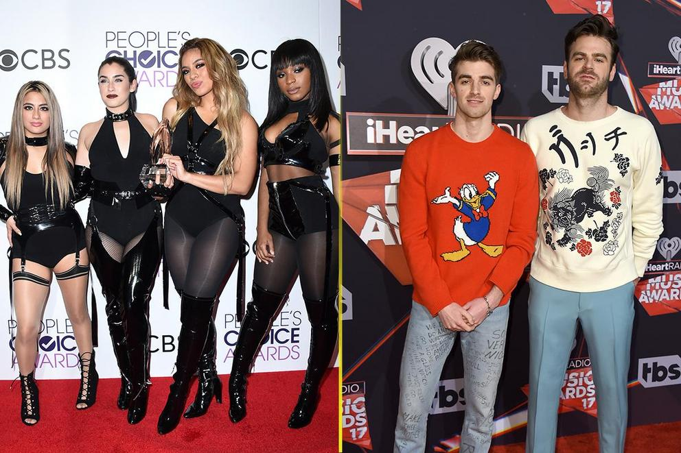 Choice Music Group: Fifth Harmony or The Chainsmokers?