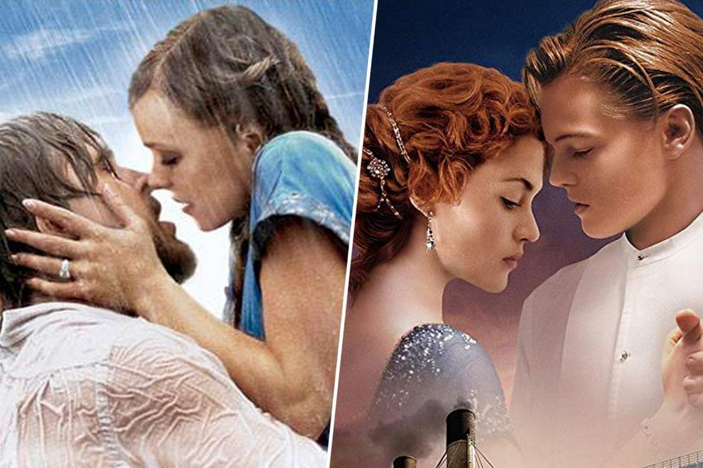 Favorite love film: 'The Notebook' or 'Titanic'?