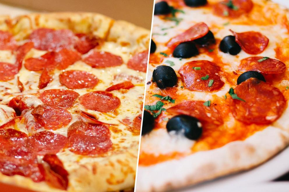 What's the superior pizza type: puffy or thin?