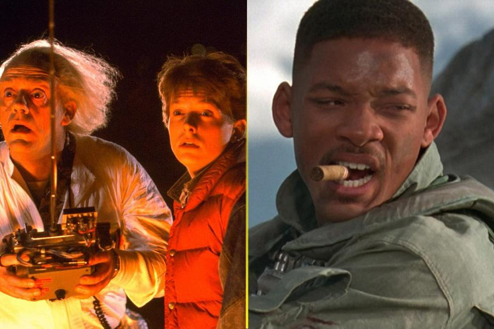 Greatest summer blockbuster: 'Back to the Future' or 'Independence Day'?