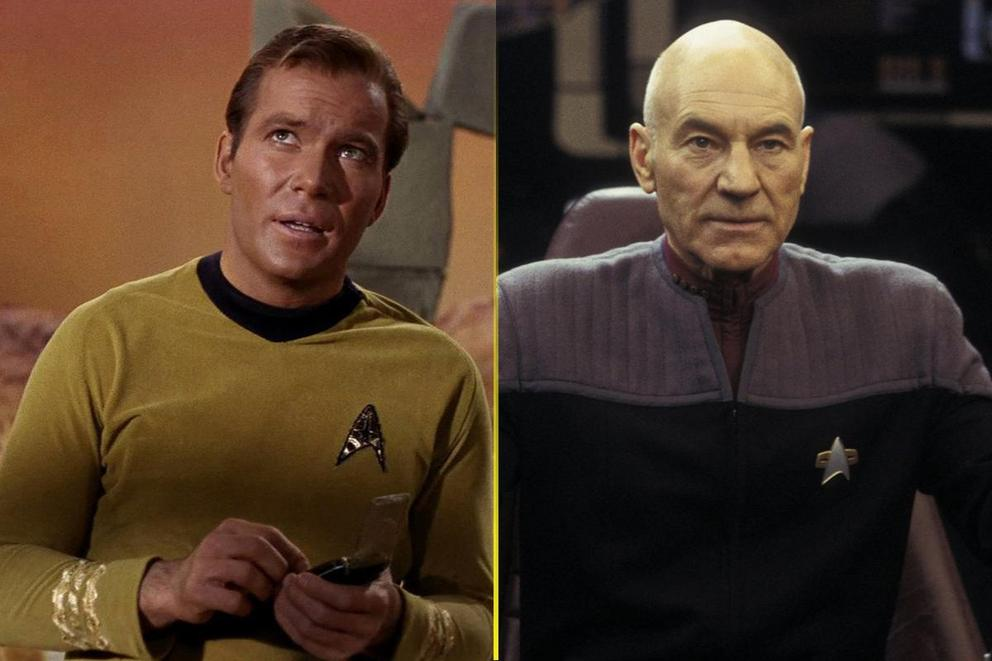 Who's the best Star Trek captain: Kirk or Picard?