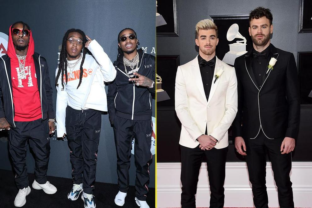 Billboard's Top Duo/Group: Migos or The Chainsmokers?