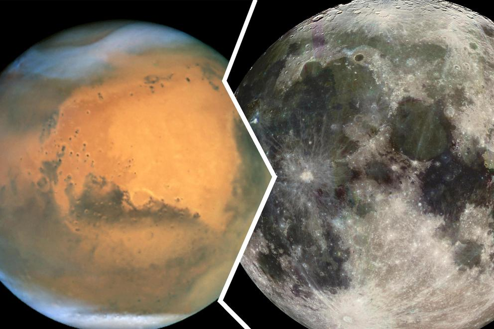 Should the US prioritize a mission to the Moon or Mars?