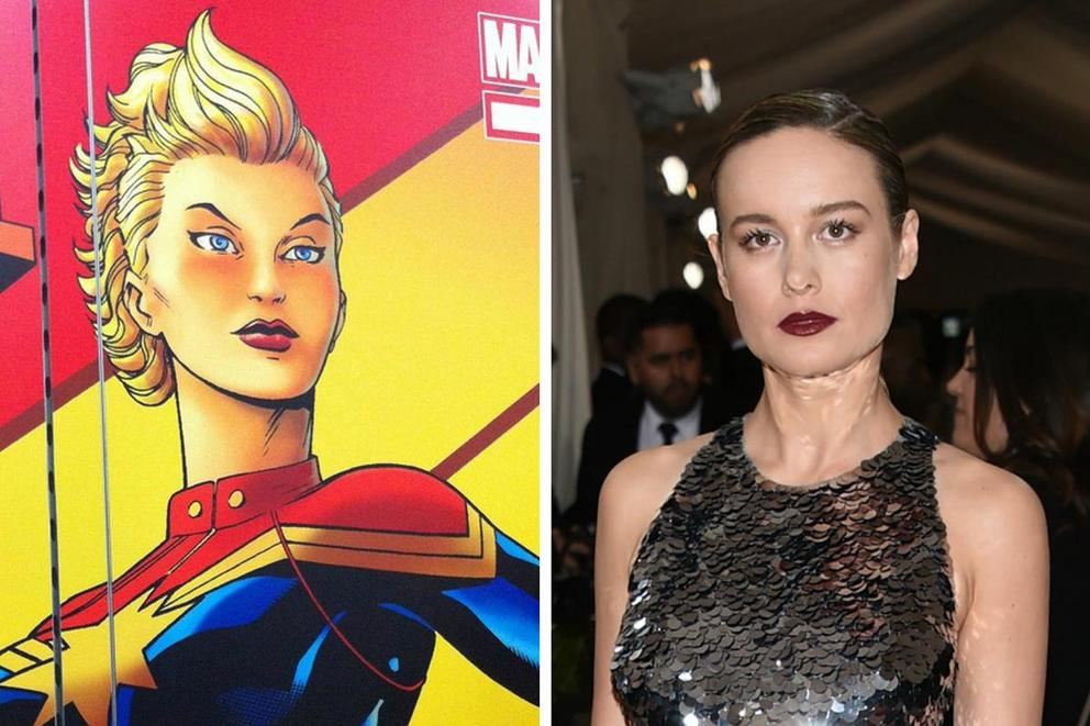 Brie Larson in talks to play Captain Marvel. Is she the right choice?