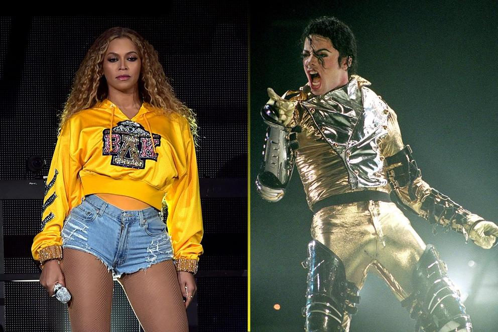 Is Beyoncé the Michael Jackson of this generation?
