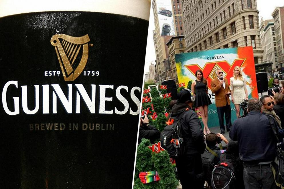 America's favorite beer: Guinness or Dos Equis?