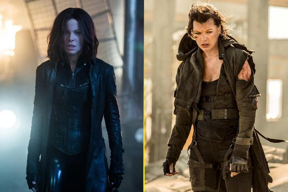 Most badass action-horror heroine: Selene or Alice?