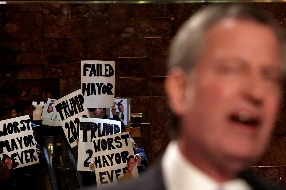 Who even asked for Bill de Blasio?
