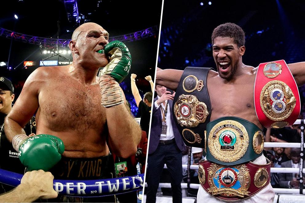 Who would win in a fight: Tyson Fury or Anthony Joshua?