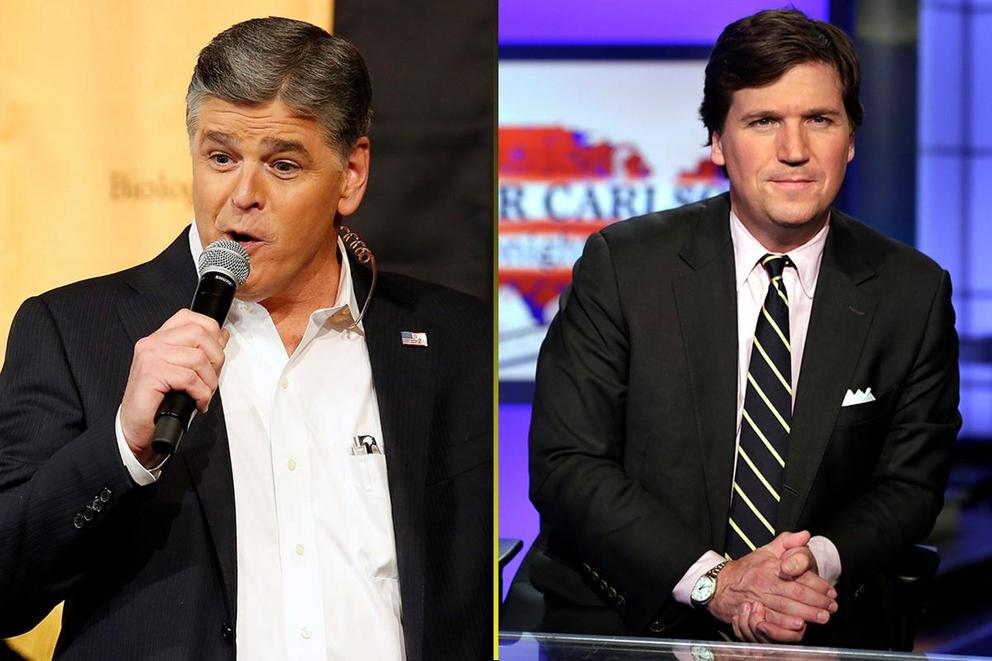 Who gave the best political rant of 2017: Sean Hannity or Tucker Carlson?