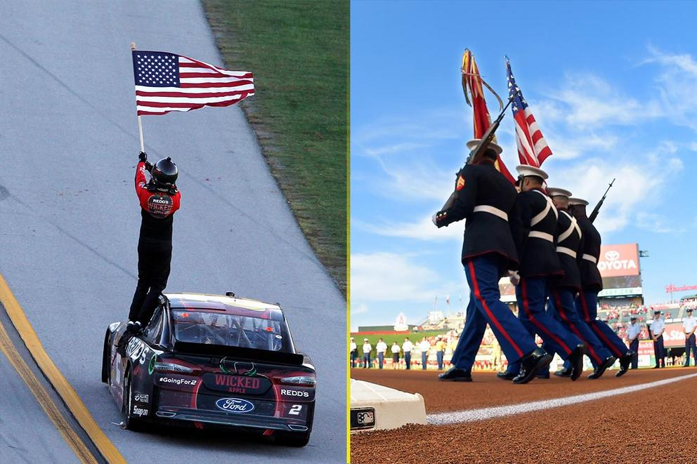 Most patriotic sport in America: NASCAR or baseball?