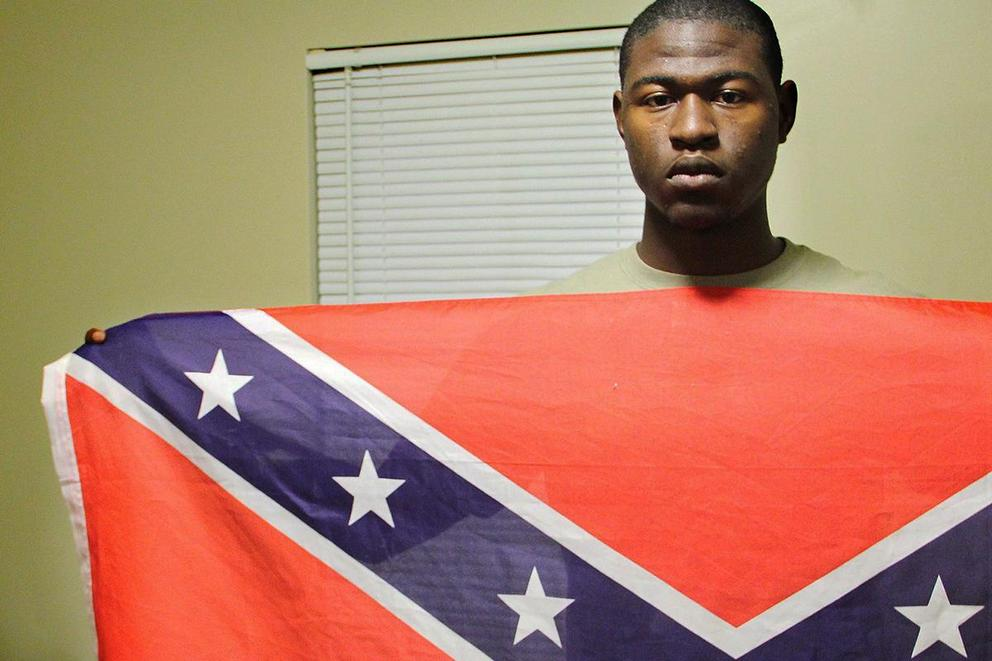 Should the Confederate flag be banned from public schools?