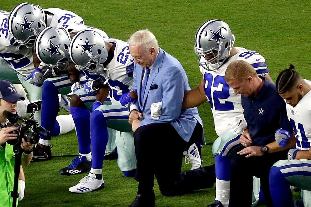 Is Jerry Jones the biggest hypocrite in the NFL?