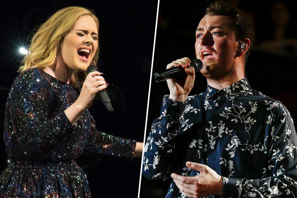 Favorite U.K. pop-soul singer of the '10s: Adele or Sam Smith?
