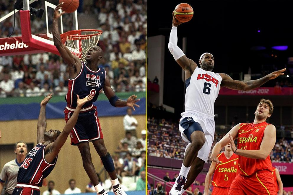Who would win in a pick-up game: '92 Dream Team or 2012 Redeem Team?
