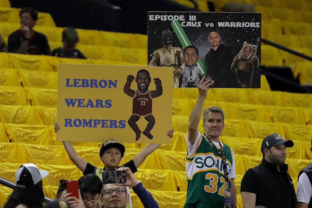 Do fans take heckling too far?