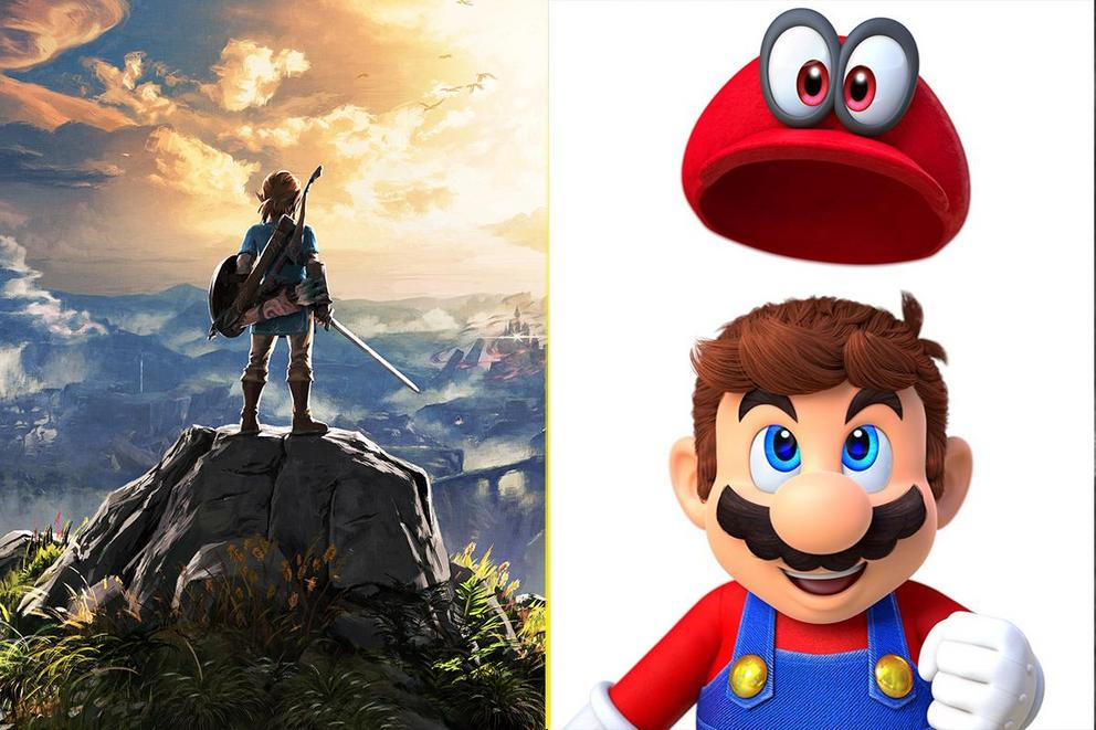 Video game of the year: 'Zelda: Breath of the Wild' or 'Super Mario Odyssey'?