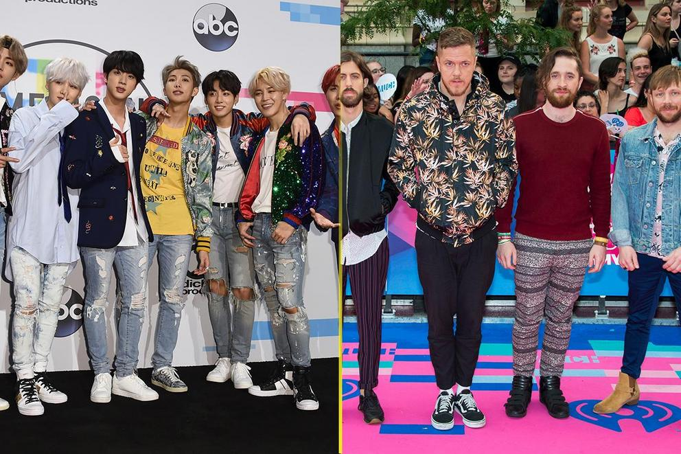 Radio Disney's Best Duo/Group: BTS or Imagine Dragons?