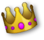 A festive crown for the winner